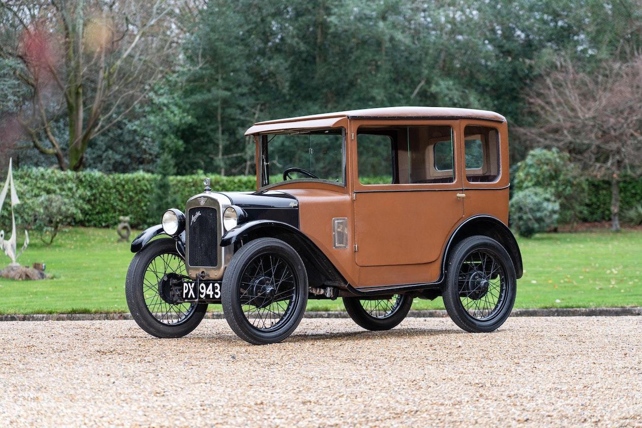 1929 AUSTIN 7 FABRIC SALOON