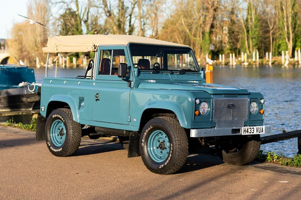 1991 LAND ROVER DEFENDER 90 200 TDI CONVERTIBLE