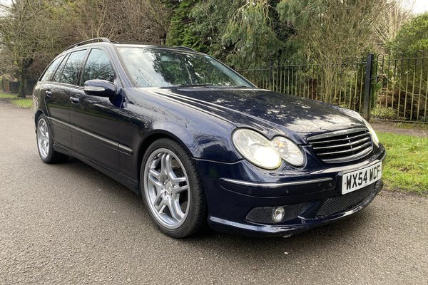 2004 MERCEDES-BENZ (W203) C55 AMG ESTATE