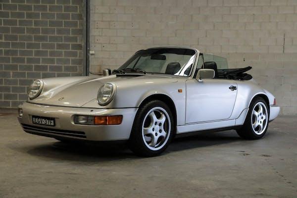 1990 PORSCHE 911 (964) CARRERA 2 CABRIOLET