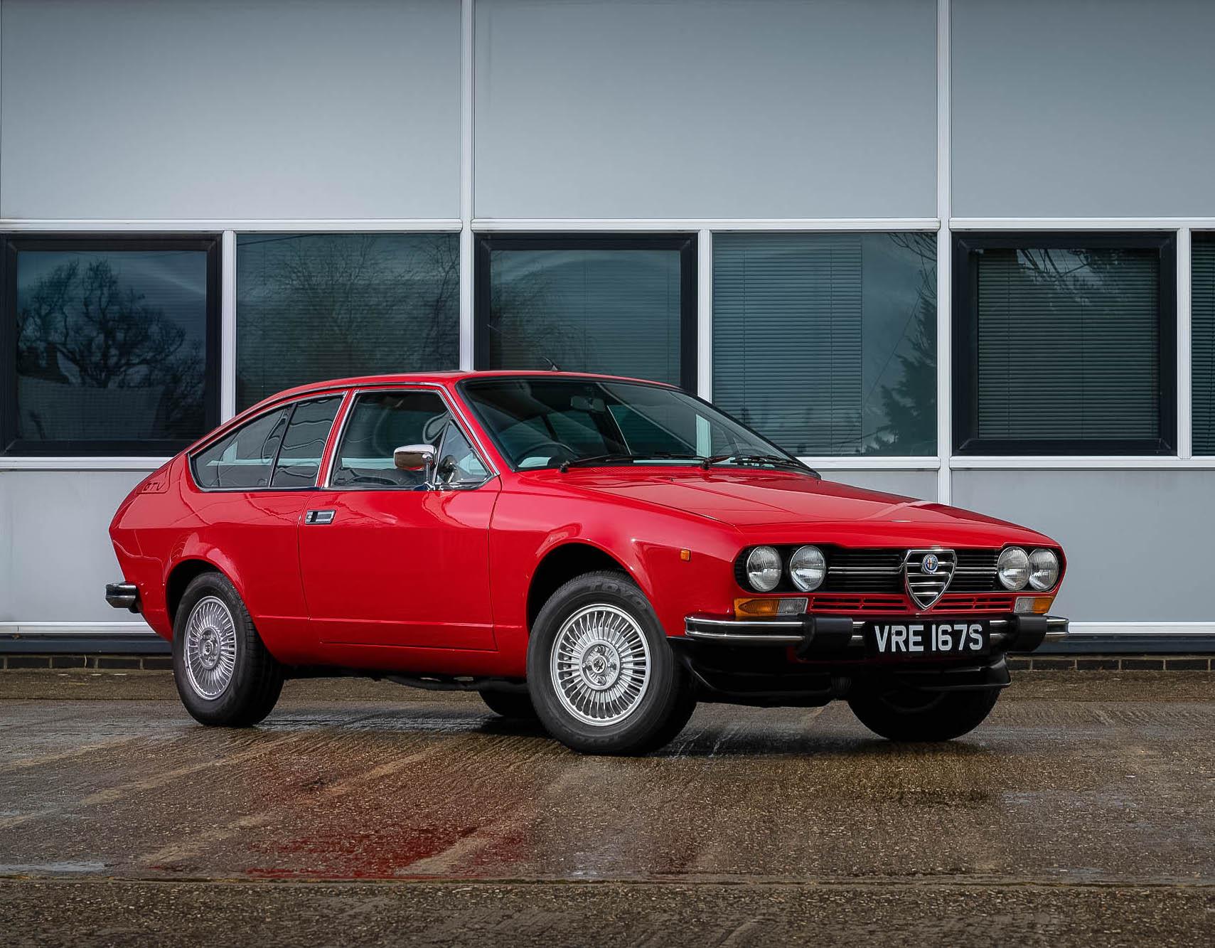 1977 ALFA ROMEO ALFETTA GTV
