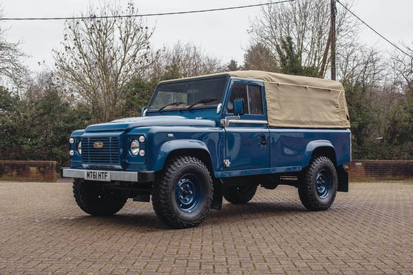 2011 LAND ROVER DEFENDER 110 CUSTOM