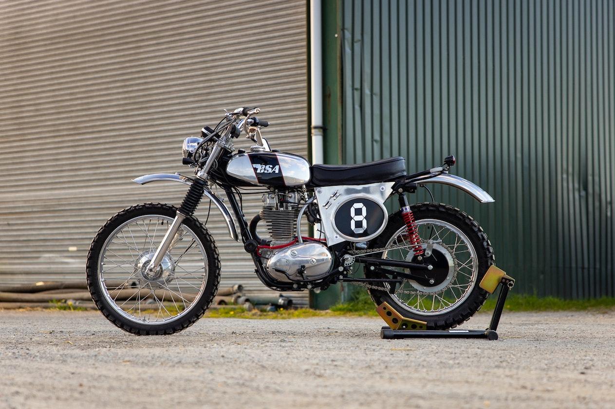 1973 BSA B50 MX
