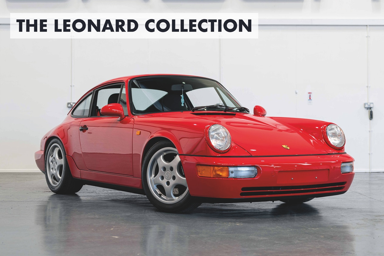 NO RESERVE: 1991 PORSCHE 911 (964) CARRERA RS - 164 KM FROM NEW