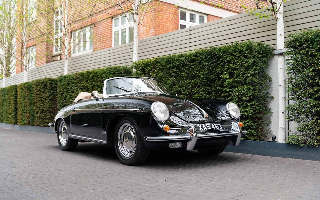 1962 PORSCHE 356 B 1600S ROADSTER