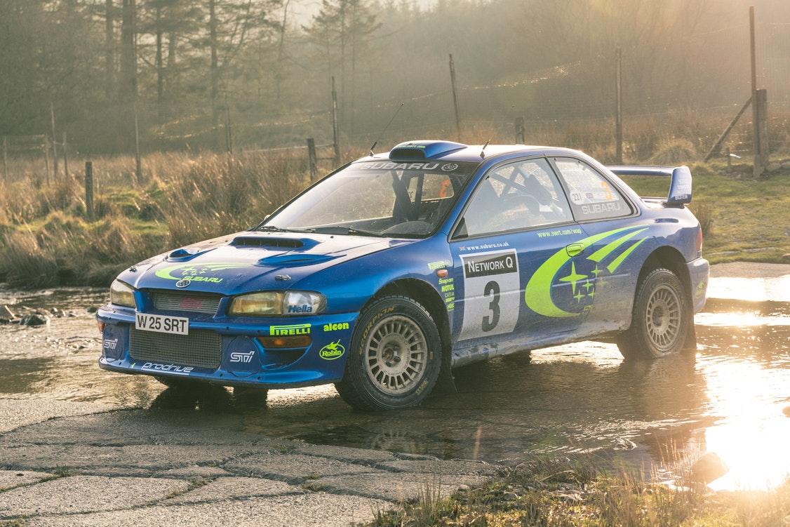 SUBARU IMPREZA S6 WRC - 2000 RALLY GB WINNER EX BURNS/REID