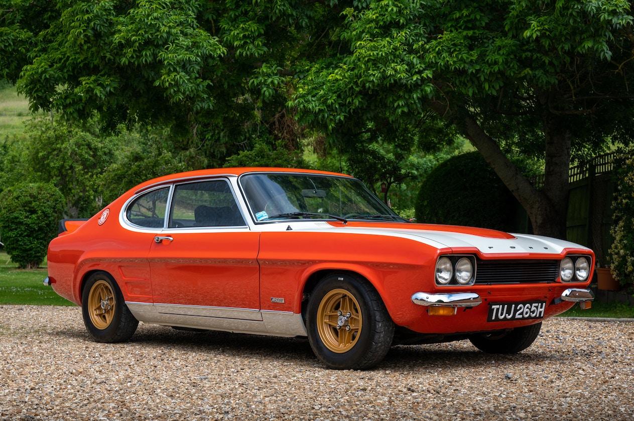 1970 FORD CAPRI RS 2600