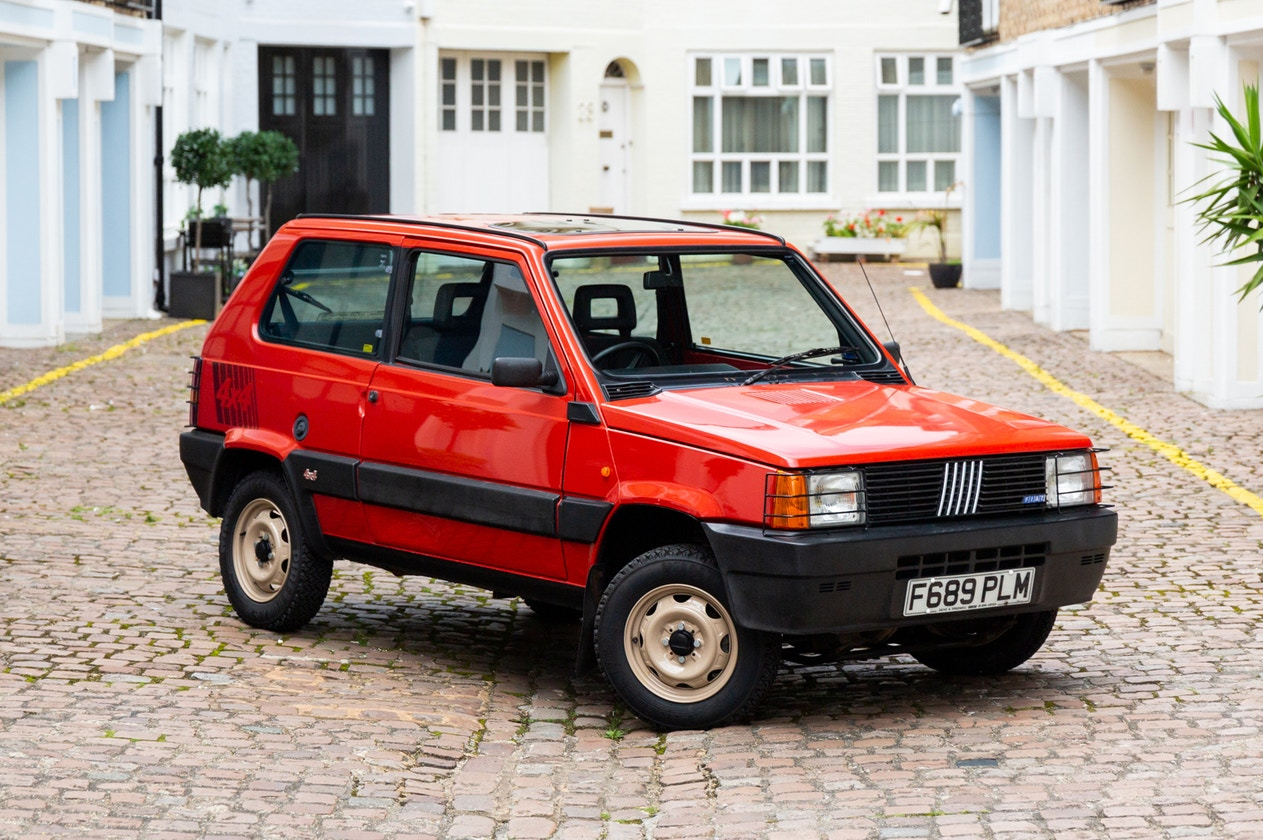 1989 FIAT PANDA 4X4 - 38,200 MILES FROM NEW