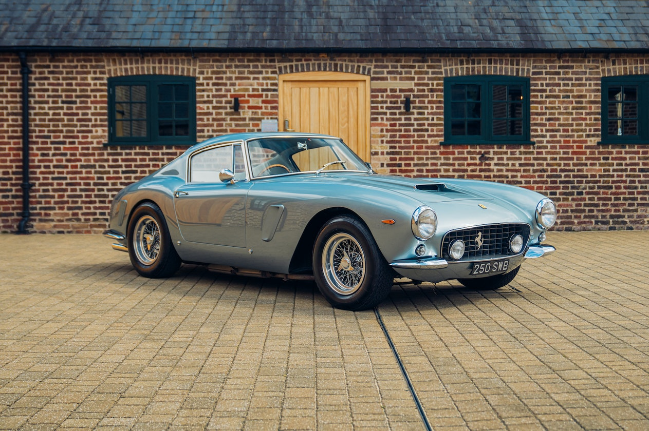 CHARITY AUCTION - FERRARI 250 GT SWB DRIVING EXPERIENCE