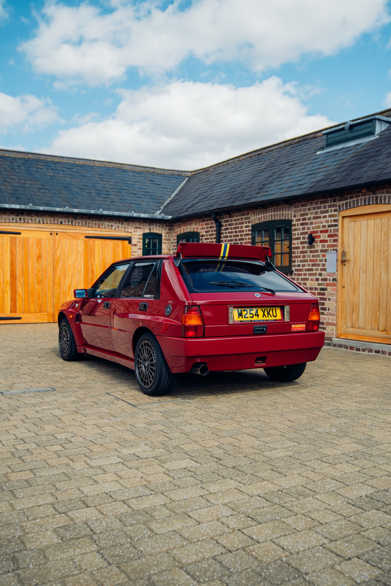 CHARITY AUCTION - LANCIA DELTA INTEGRALE EVO II DRIVING EXPERIENCE