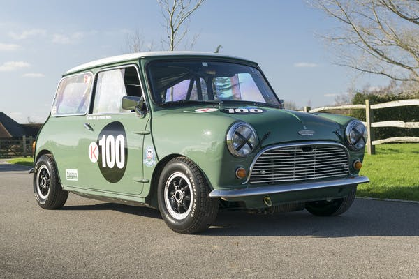 1966 AUSTIN MINI FIA COOPER S SPECIFICATION