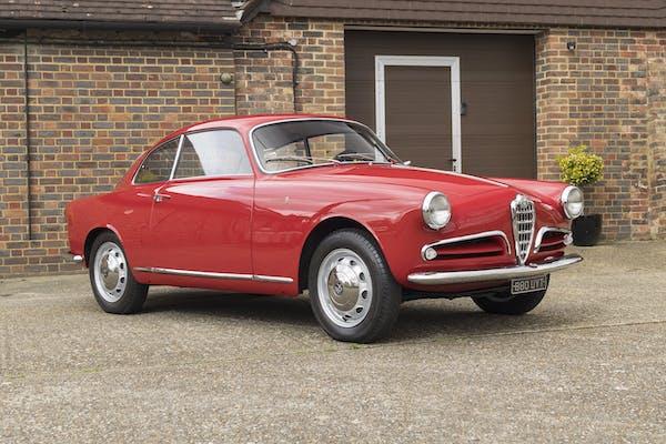 1955 ALFA ROMEO GIULIETTA SPRINT 750B