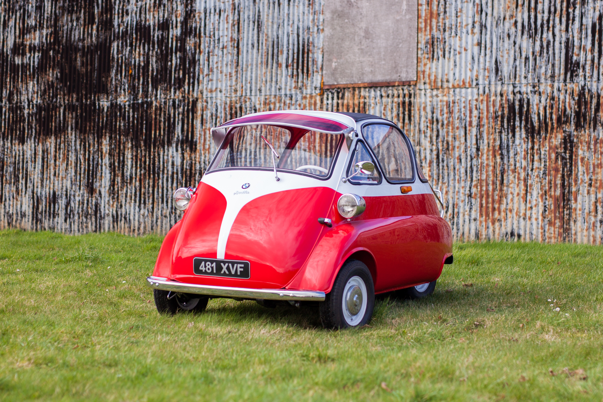 RESERVE LOWERED: 1957 BMW ISETTA 300