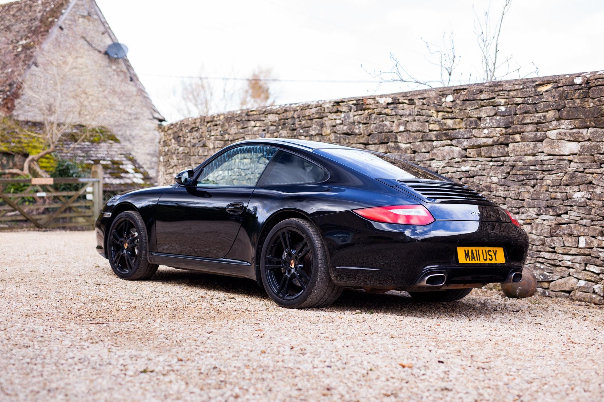 2011 Porsche 911 997 Black Edition