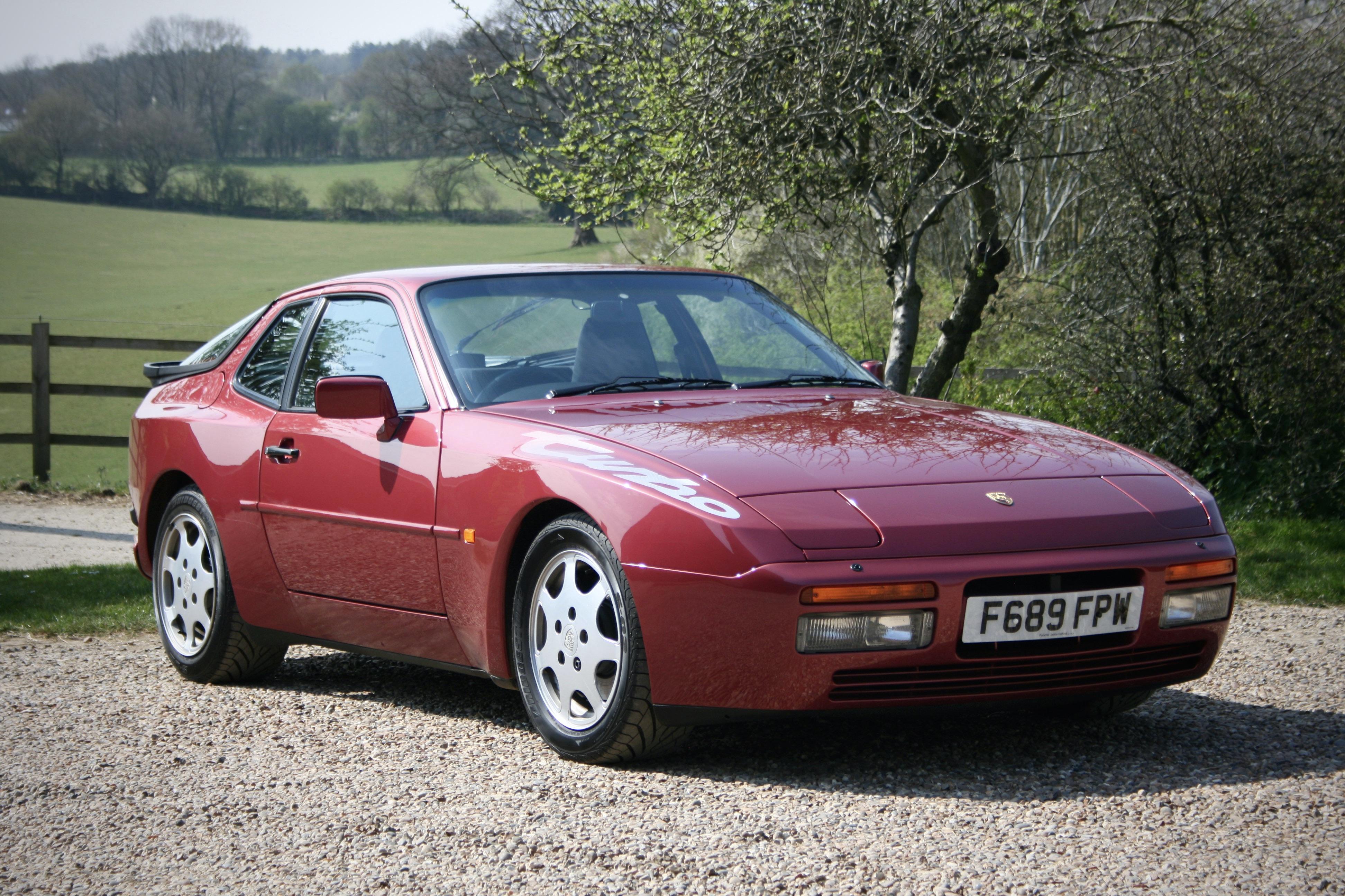 1989 Porsche 944 Turbo M030 7 500 Miles