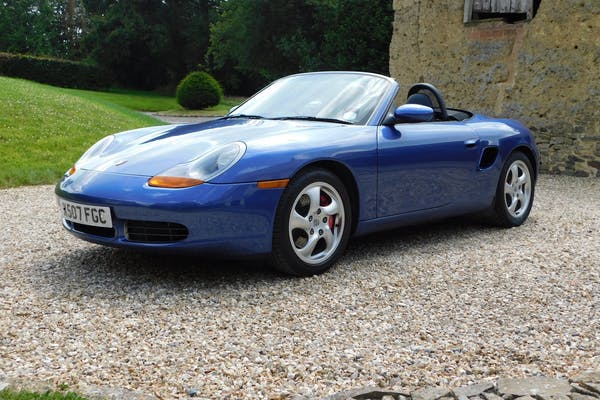2000 PORSCHE (986) BOXSTER S - 20,000 MILES FROM NEW