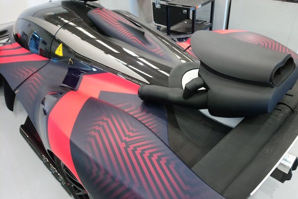 CHARITY AUCTION - ASTON MARTIN VALKYRIE EXHAUST FINISHER