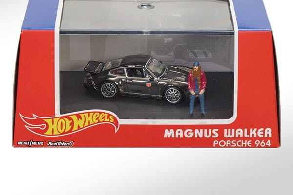CHARITY AUCTION - MAGNUS WALKER HOT WHEELS 911 MODEL