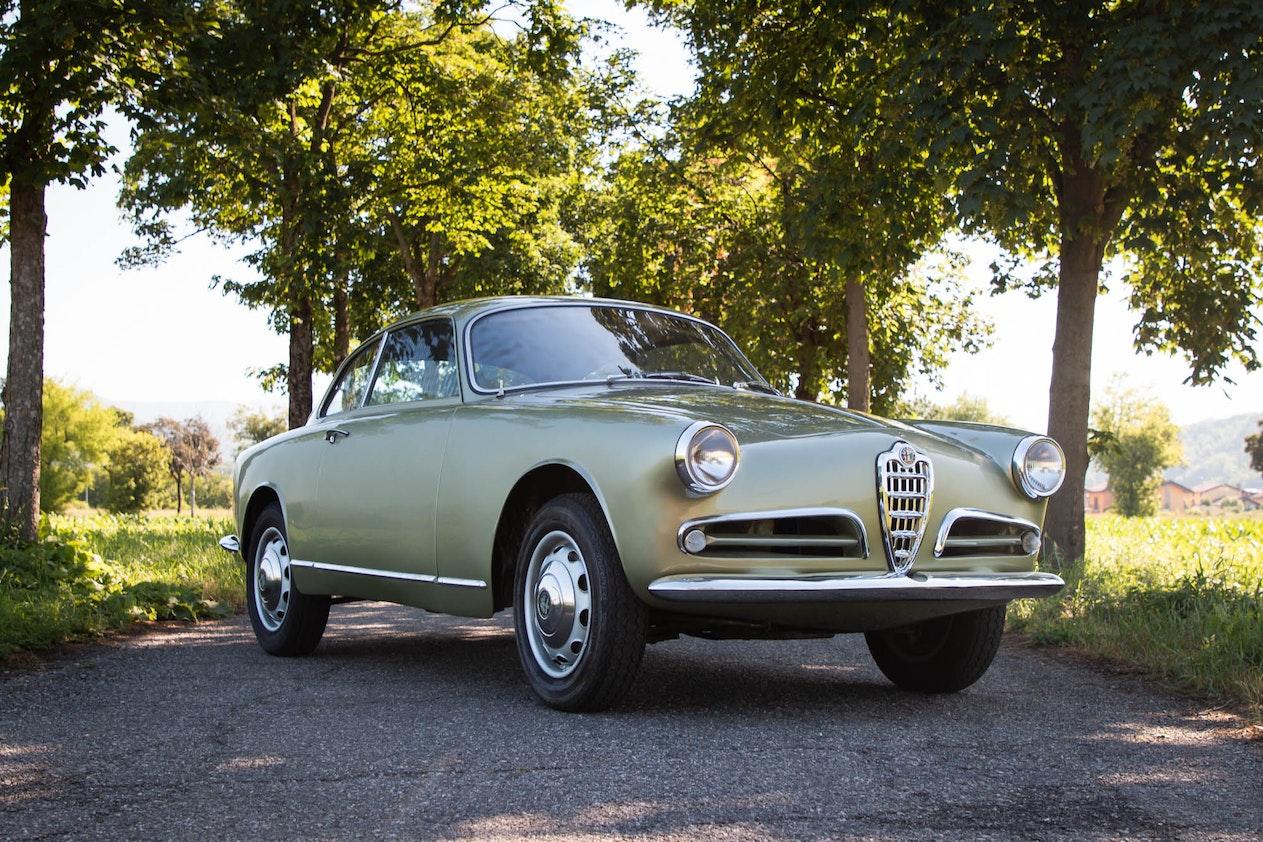 RESERVE LOWERED: 1955 ALFA ROMEO GIULIETTA SPRINT 750B