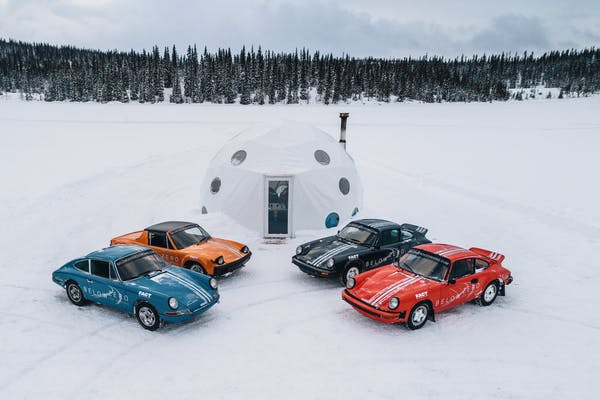 CHARITY AUCTION - TUTHILL PORSCHE ICE DRIVING EXPERIENCE