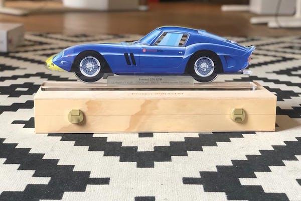 CHARITY AUCTION - FERRARI 250 GTO PLEXIGLASS MODEL