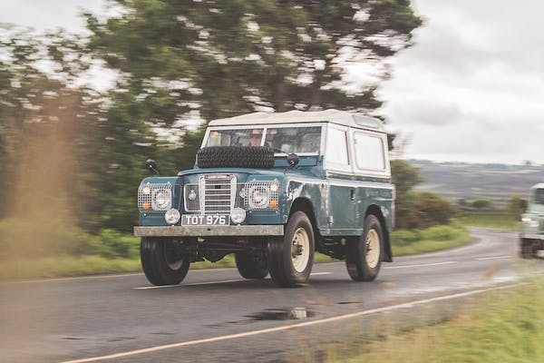 CHARITY AUCTION - 1976 LAND ROVER SERIES III