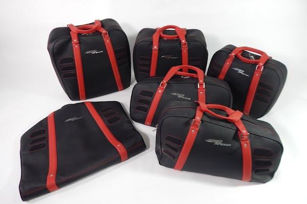 SCHEDONI LUGGAGE FOR FERRARI 458 SPIDER - COMPLETE SET
