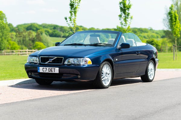 2002 VOLVO C70 CONVERTIBLE - 12,270 MILES FROM NEW