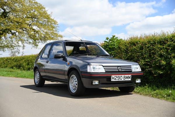 1991 PEUGEOT 205 GTI 1.6
