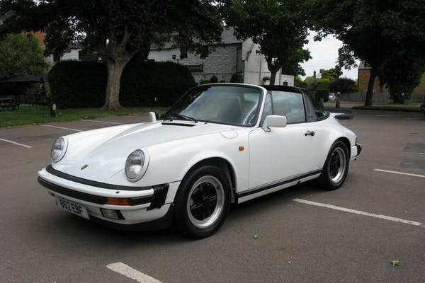 1987 PORSCHE 911 CARRERA 3.2 SPORT TARGA