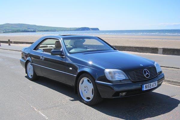 1996 MERCEDES-BENZ (C140) CL420