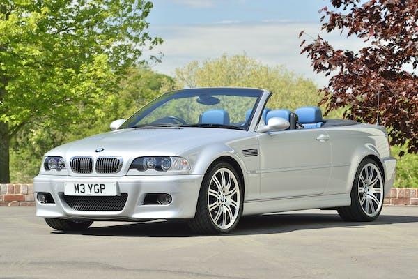 2003 BMW (E46) M3 CONVERTIBLE - 25,200 MILES