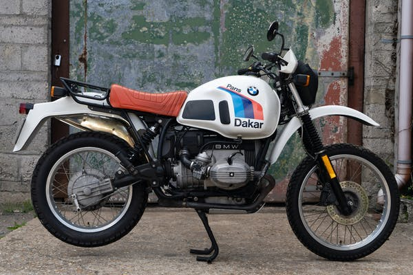 1986 BMW R 80 G/S PARIS-DAKAR SPECIAL EDITION