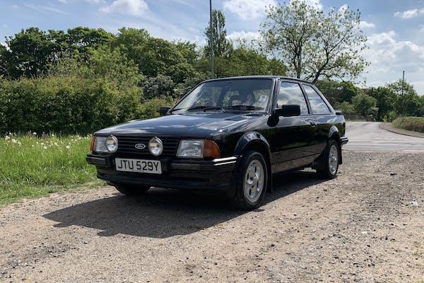 1982 FORD ESCORT XR3