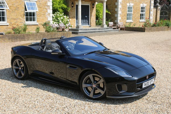 2017 JAGUAR F-TYPE 400 SPORT CONVERTIBLE