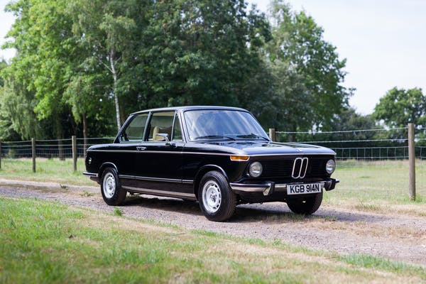 1975 BMW 1602 LUX - 27,011 MILES FROM NEW