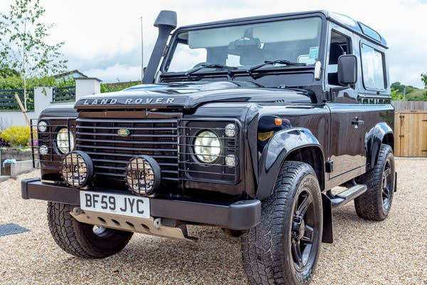 2009 LAND ROVER DEFENDER 90 COUNTY