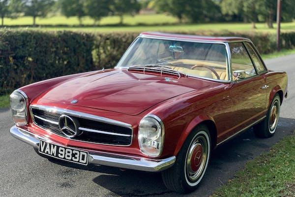 1966 MERCEDES-BENZ 230 SL PAGODA - LHD