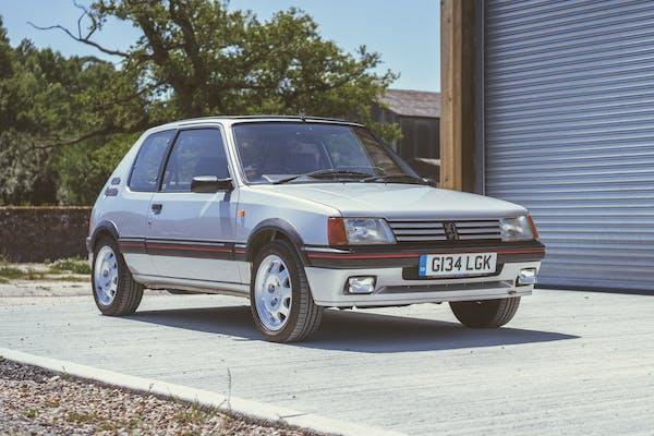 1989 PEUGEOT 205 GTI 1.9