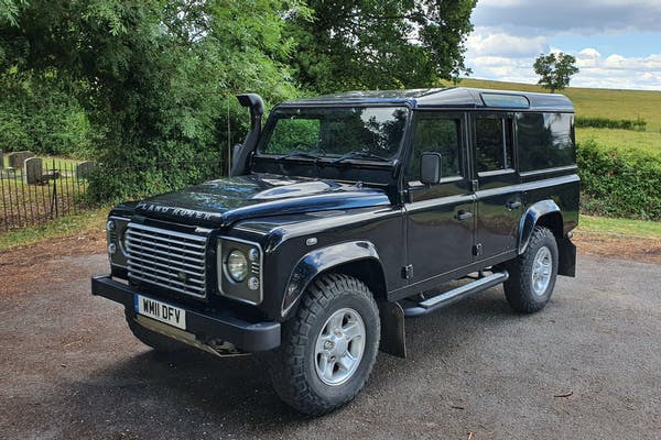 2011 LAND ROVER DEFENDER 110 XS UTILITY WAGON