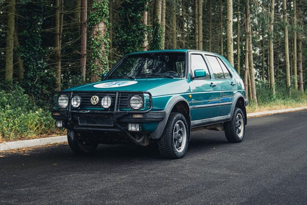 1990 VOLKSWAGEN GOLF COUNTRY SYNCRO - LHD