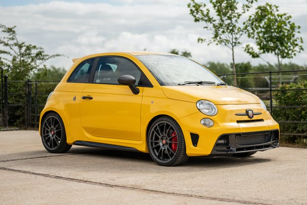 2018 ABARTH 695 BIPOSTO - 36 MILES FROM NEW