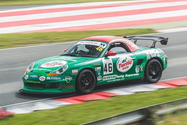NO RESERVE: 2001 PORSCHE (986) BOXSTER S RACING CAR