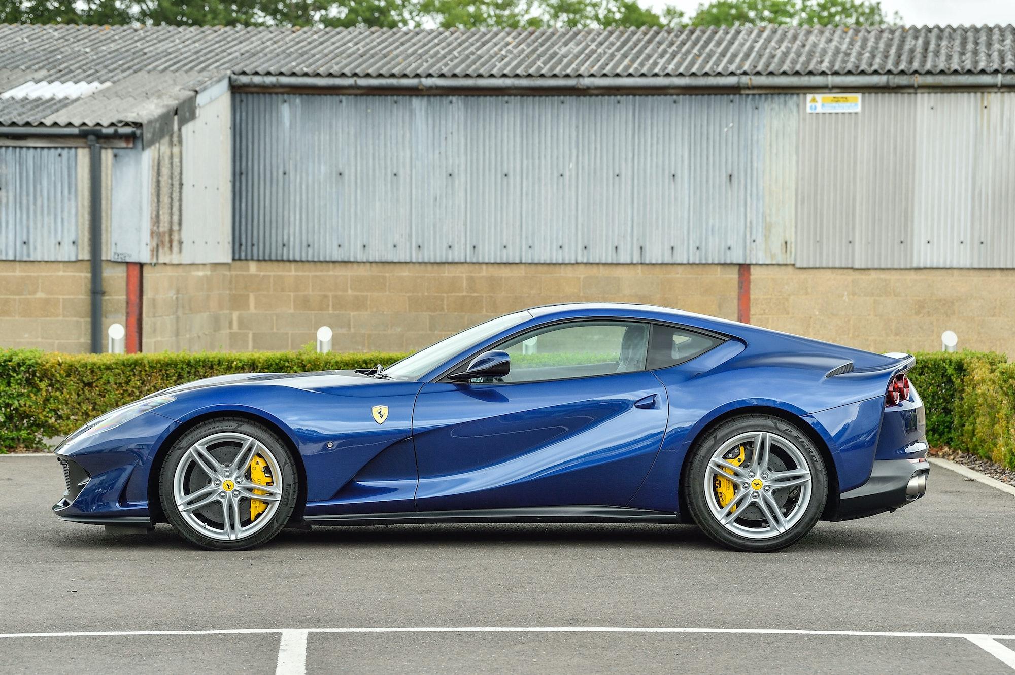 2019 Ferrari 812 Superfast 150 Miles