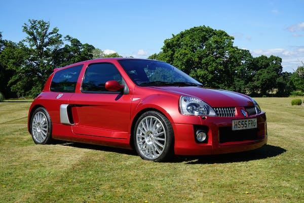 2005 RENAULT CLIO V6 255 'PHASE 2' - 4,619 MILES