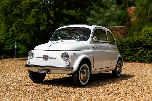 1962 FIAT 500D TRANSFORMABLE