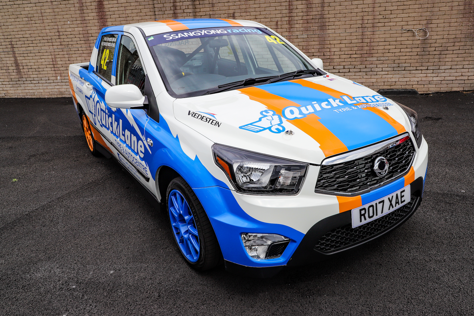 2017 SSANGYONG MUSSO RACING 4X2