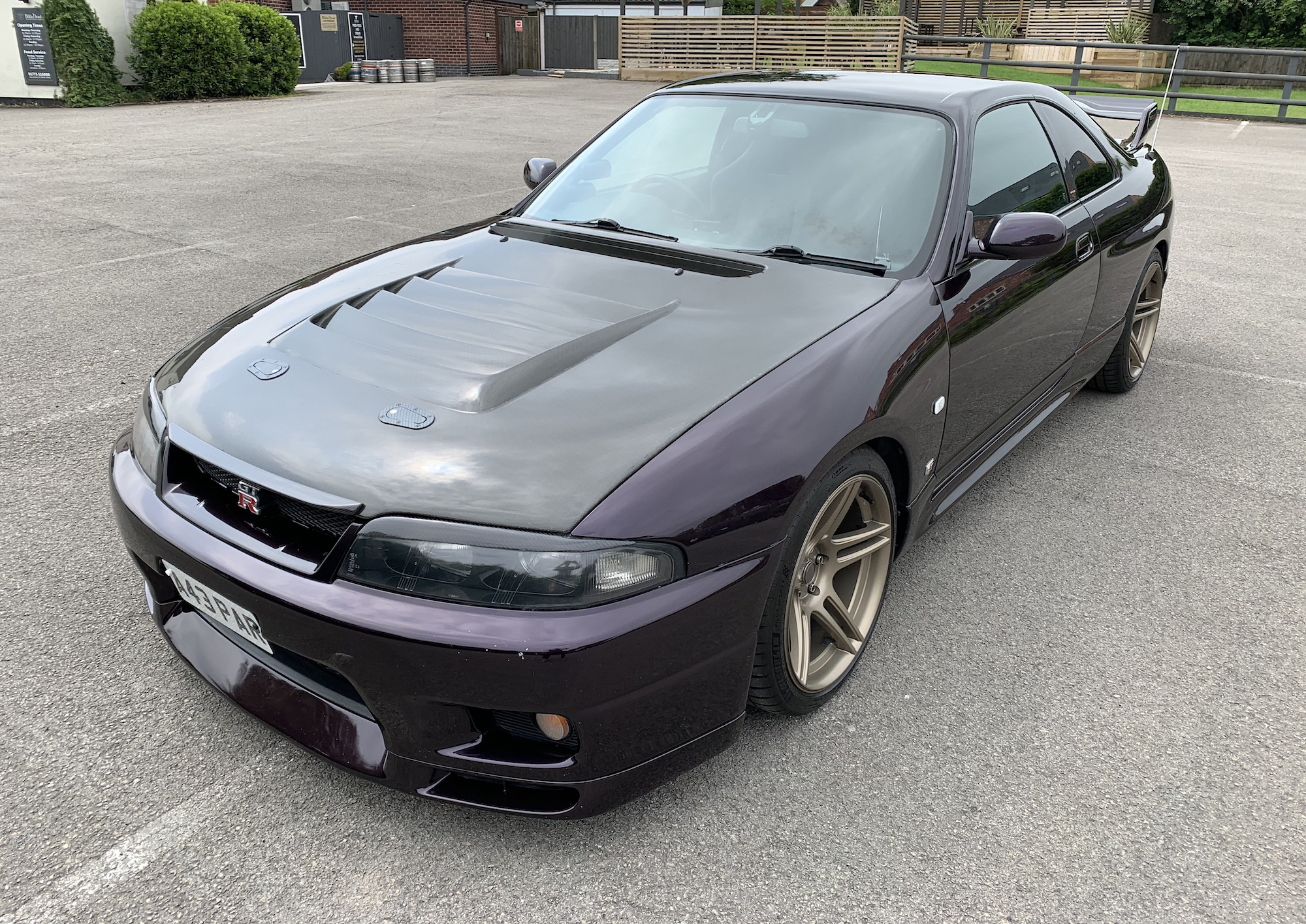 1996 NISSAN SKYLINE (R33) GT-R