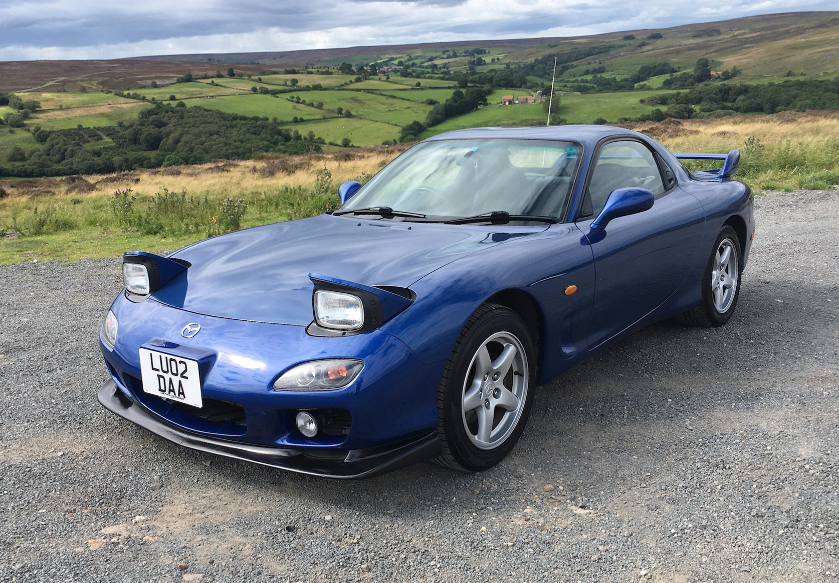 NO RESERVE: 2002 MAZDA RX-7 TYPE RB