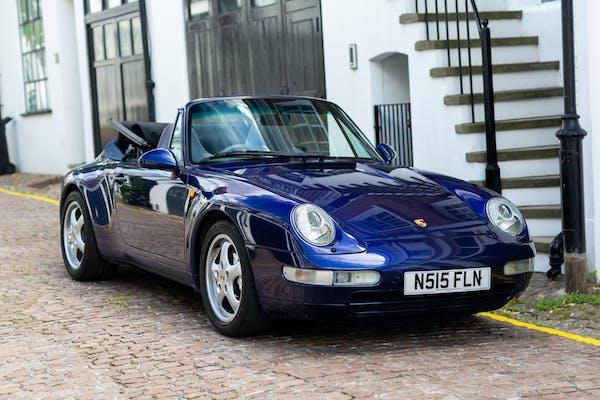 1995 PORSCHE 911 (993) CARRERA 4 CABRIOLET